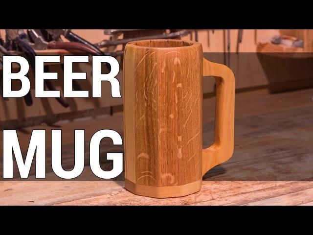 Wooden Beer Mug | Деревянная пивная кружка