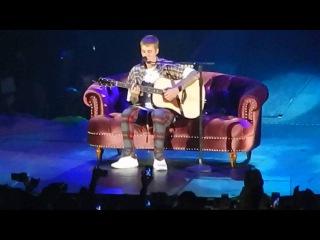 Justin Bieber - Cold Water Live Sweden