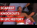The Scariest Knockouts In UFC History - TOP 5 the scariest knockouts in ufc history - top 5