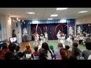 Танец с гимнастической лентой Северное сияние
