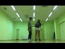 Cutting Shapes [House Shuffle] First Coreo - Elisa ft. Mark