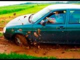 Russian Lada Priora offroad drift )