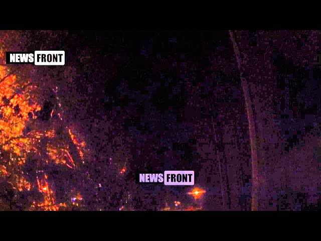 14 июля 2015 Донецк под обстрелом ВСУ. Ночное «перемирие» в самом разгаре!