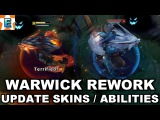 Warwick Rework 2017 - Firefang Tundra Big Bad Hyena Marauder Warwick Skin Spotlight - Update