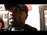 Andre Berto confirms that Golovkin has crazy power! Shares stories from Rosado sparring partners