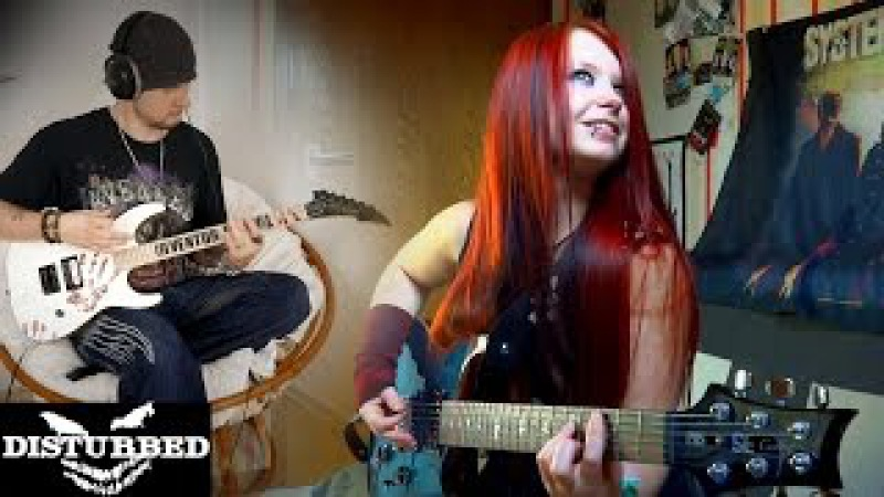 DISTURBED Down With The Sickness GUITAR COVER INSTRUMENTAL COVER by Jassy J DeSade