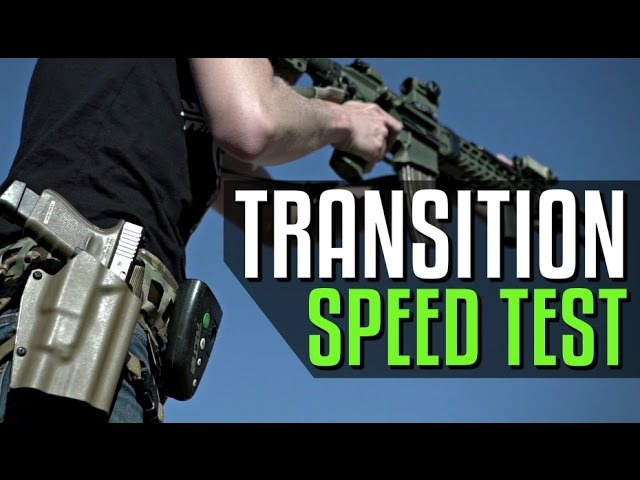How Fast Can a Pistol Transition Be?