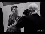 When Vanessa Paradis meets Karl Lagerfeld  VOGUE PARIS