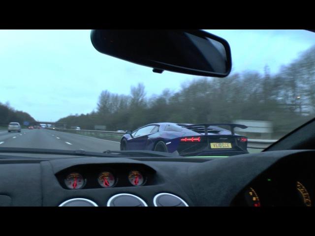 ONBOARD RIDE In a Lamborghini LP570-4 Performante!!