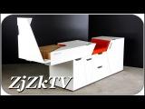 Потрясающая мебель трансформер, которую каждый захочет иметь у себя дома. Изобр ...