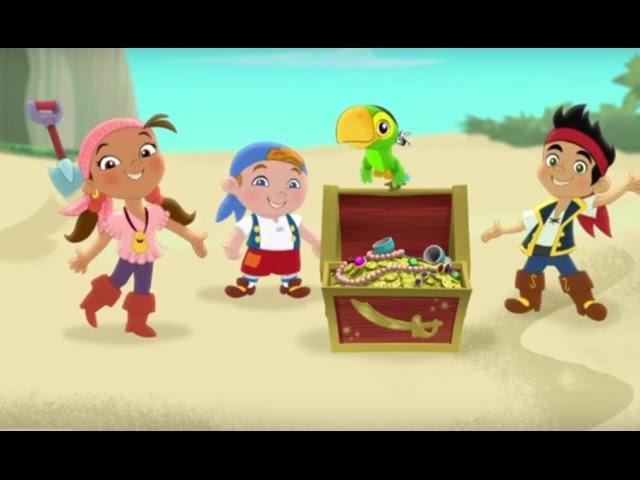 Джейк и пираты Нетландии - все серии подряд (Сезон 1 Серии 1, 2, 3) l Мультфильм про пи...