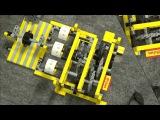 LEGO : Chain Counter Mechanical Machine , Mechanisches Zählwerk by üfchen