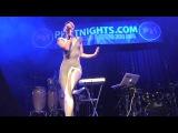 Kimberly Wyatt - Candy Feat. Aggro Santos (Live PA, Opening Pitbull Show, 2010)