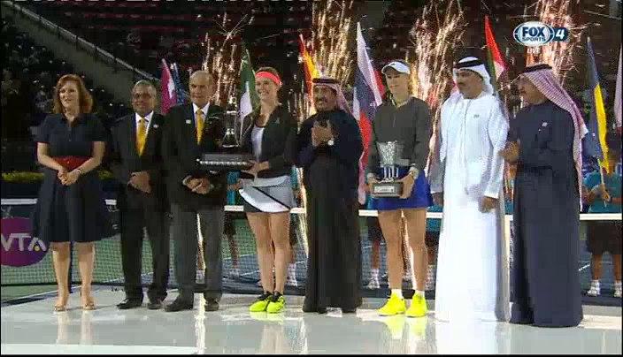 Украинка Свитолина выиграла престижный теннисный турнир в Дубае - Цензор.НЕТ 2736