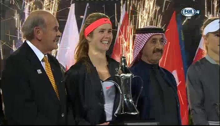 Украинка Свитолина выиграла престижный теннисный турнир в Дубае - Цензор.НЕТ 3306