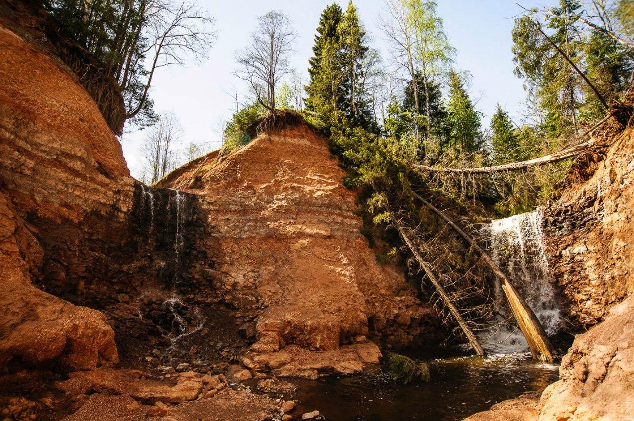Водопады Копани