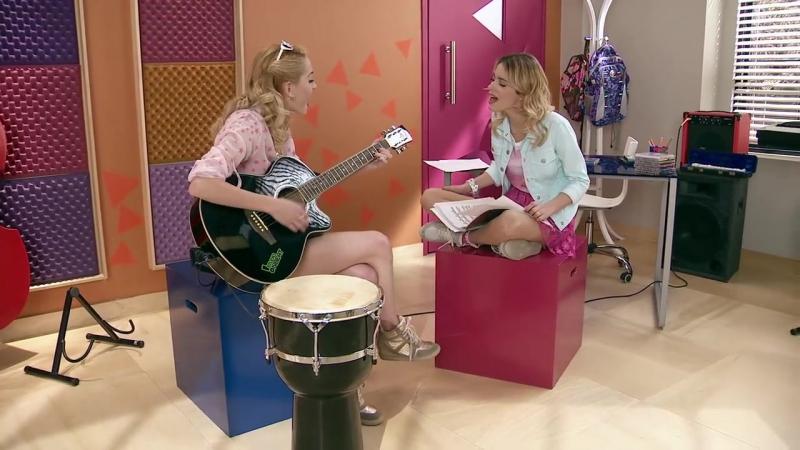 Violetta Momento Musical Violetta y Ludmila cantan Si Es Por Amor
