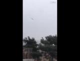 Запуск дрона по-китайски