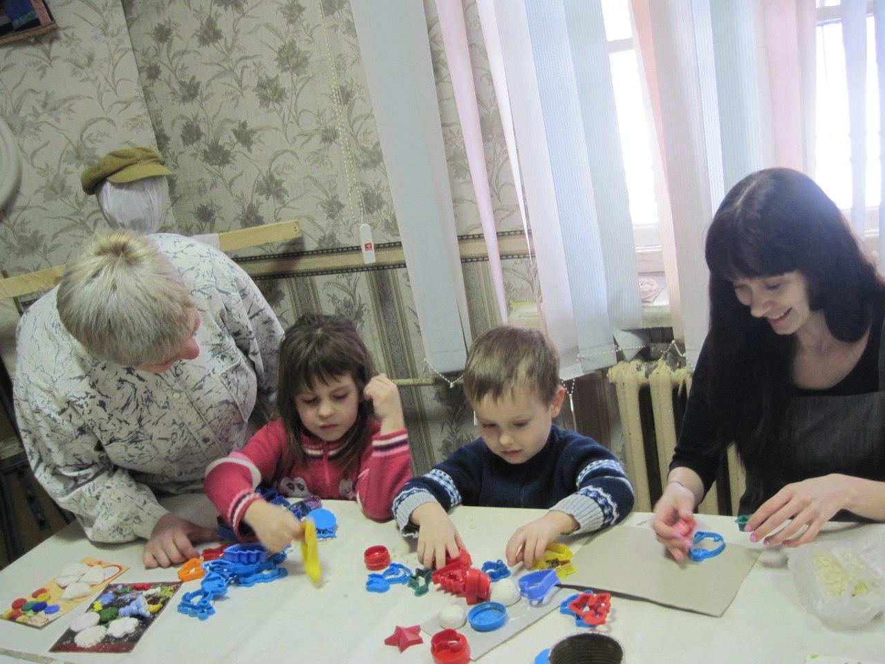 «Большая и малая медведица» - мастер-класс в Клубе инвалидов «Вера»