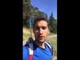 Quand un champion olympique encourage un champion paralympique ! Martin Fourcade transmet tout son soutien