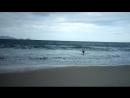 Рио-де-Жанейро, атлантический океан, Капокабано пляж, Vetrov рекомендует!! Классно погулял и искупался, 2 метровые волны!!))