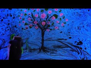 Beautiful and Poetic Ebru Art by Angelina Zolotaya
