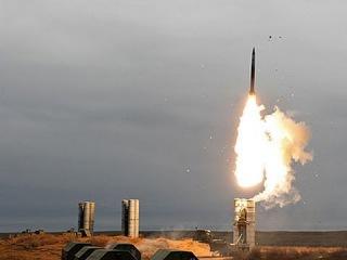 Кадры стрельб ЗРК С-300 в Бурятии