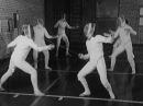 Парные упражнения в подготовке фехтовальщиков
