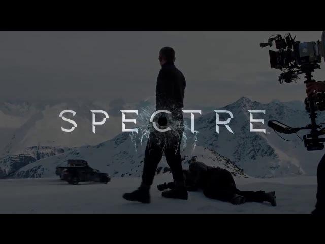 007 Спектр Видео со съёмок 2015