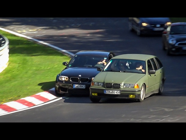 Dangerous Situations at the Nürburgring - Bad Driving, Collisions and Unsafe Situations Nordschleife