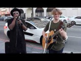 will.i.am surprises street performer @Levimitchell