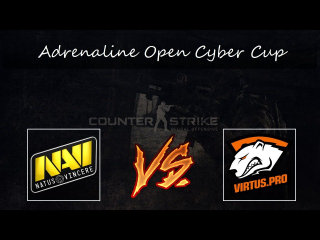CS:GO Natus Vincere vs VP | Adrenaline Open Cyber Cup map1 [Mirage] BO3 | 720p 60fps