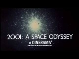 2001 A Space Odyssey - Original Trailer #1