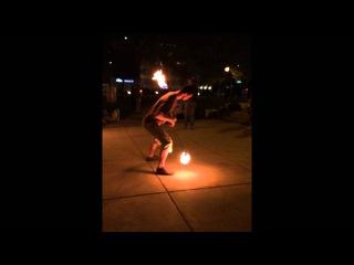 Friday night lights burn