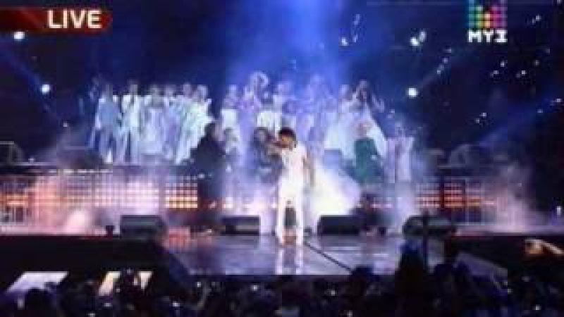 In memory of Michael Jackson. Earth Song - Премия Муз-ТВ (Muz-TV Award) 2010