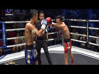 ชกหน้าสะบัด | Savage Punch | THE CHAMPION มวยไทยตัดเชือก | 25/03/60 | ช่อง8