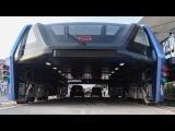 В Китае прошли испытания портального надземного автобуса