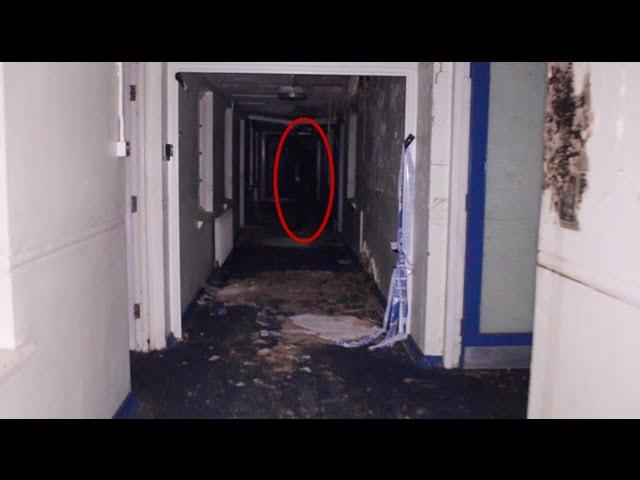 Exploring Haunted School GONE WRONG! Gunshot And Screams