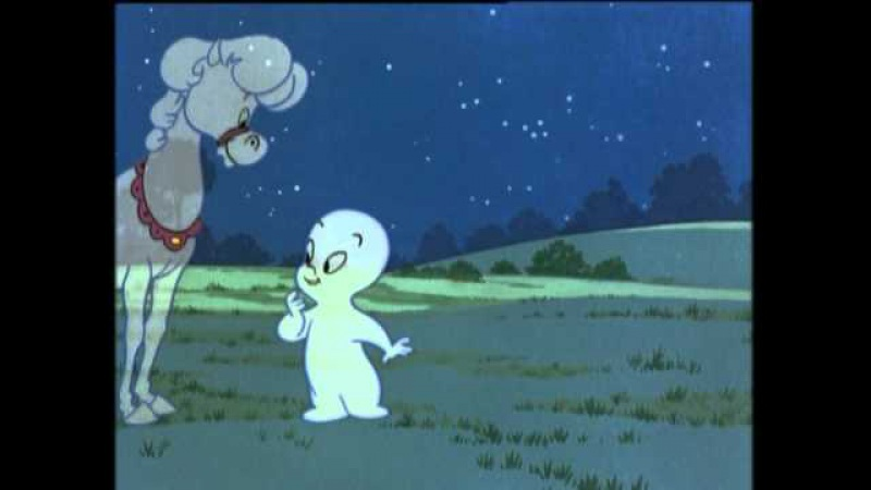 Casper the Friendly Ghost Professor's Problem Little Lost Ghost