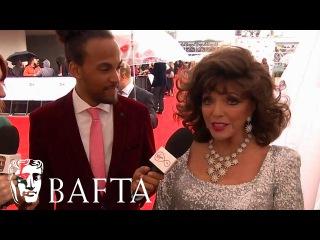Dame Joan Collins Red Carpet Interview | BAFTA TV Awards 2017