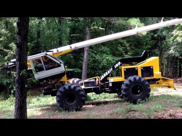 Удивительное оборудование по посадке, пересадке и обрезанию деревьев