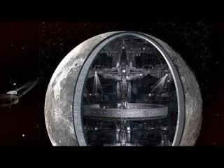 Оказывается Луна Это Гигантский корабль пришельцев Загадка Луны