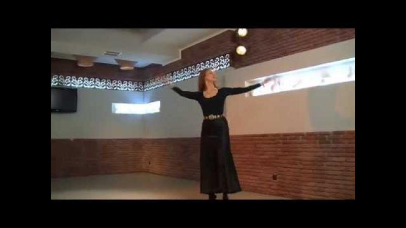ცეკვა მთიულურის სასწავლი ვიდეო ქალის პარტია cekva mtiuluris saswavli video qalis partia