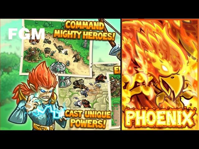 FGM - Kingdom Rush Origins Veteran Lv3 To lv4 ( Phoenix )