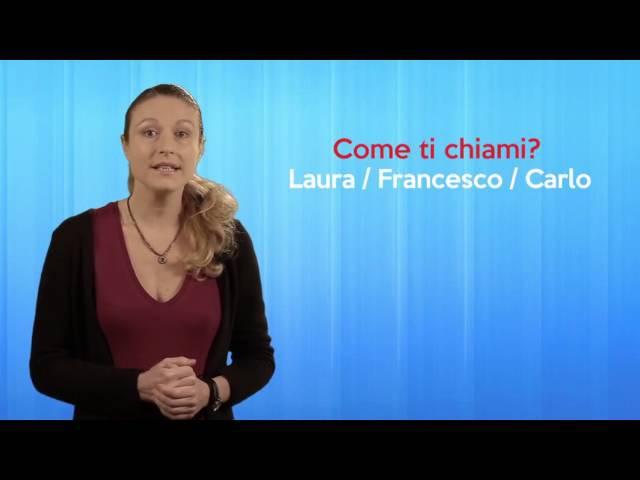 Corso di italiano per stranieri: salutare, presentarsi, dire e chiedere la provenienza. » Freewka.com - Смотреть онлайн в хорощем качестве