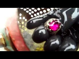 КРУТОЙ ПОВОРОТ - РУБИНОВЫЙ БРЮЛИК НАШЕЛСЯ HAIR PIN TURN, RUBY DIAMOND has FOUND