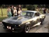 Ford Shelby Mustang GT500 Eleanor 1967 35 секунда, этот мощный звук двигателя_)