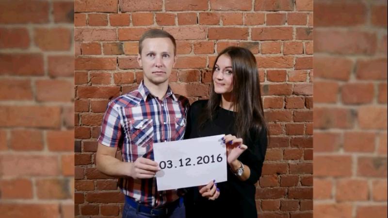 Наше видеоприглашение на свадьбу