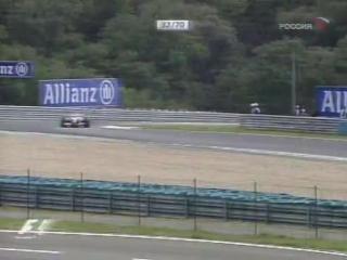 F1 2004. Гран-при Венгрии. Гонка