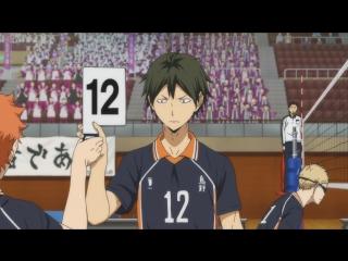 Haikyuu!! Karasuno vs Shiratorizawa ТВ 3 3 серия русская озвучка OVERLORDS / Волейбол!! 3 сезон 03 / Haikyu